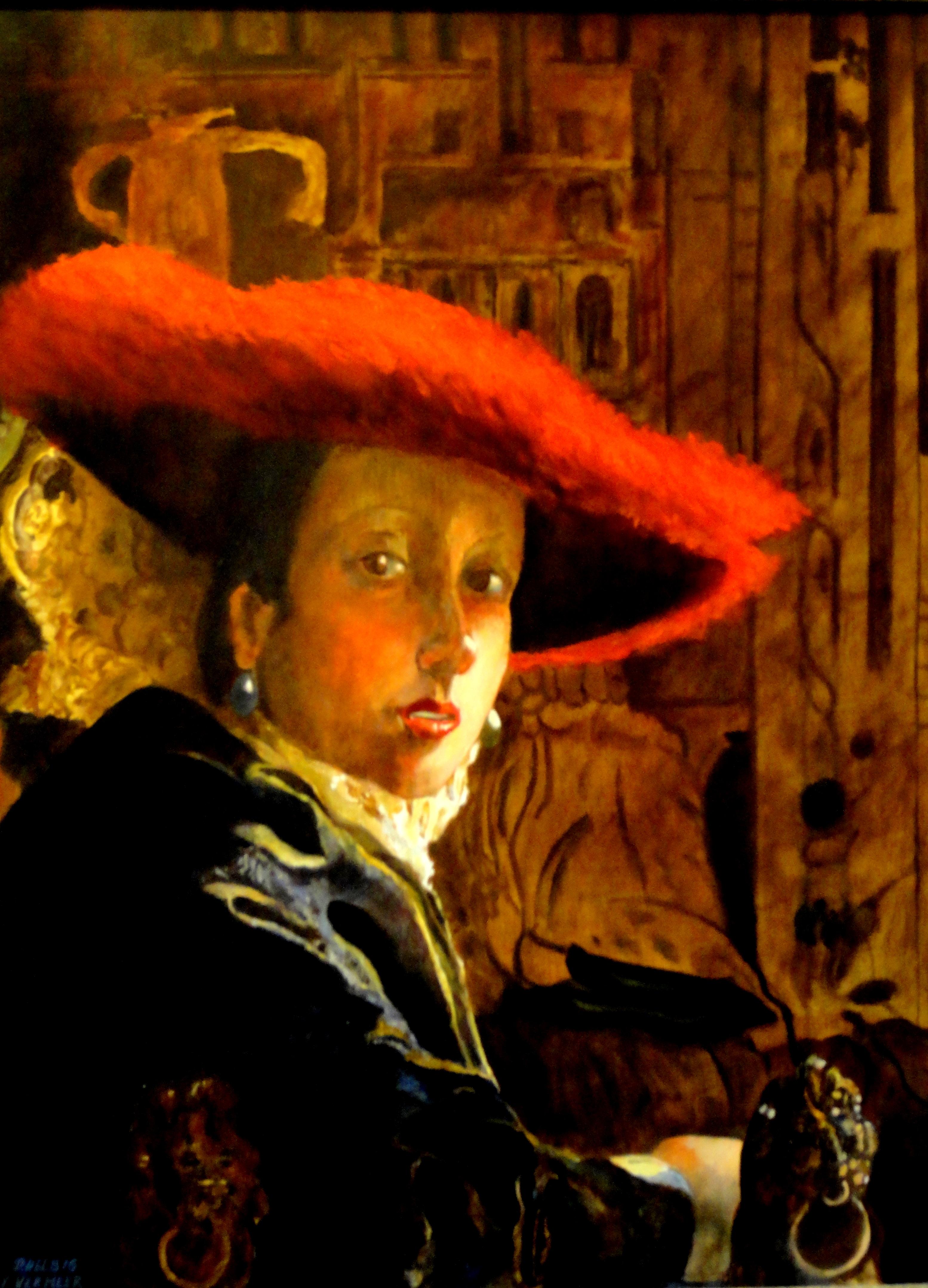 Oil Paintings By Vermeer